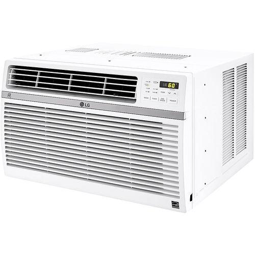LG - 12,000 BTU Smart Window Air Conditioner - White 5890358