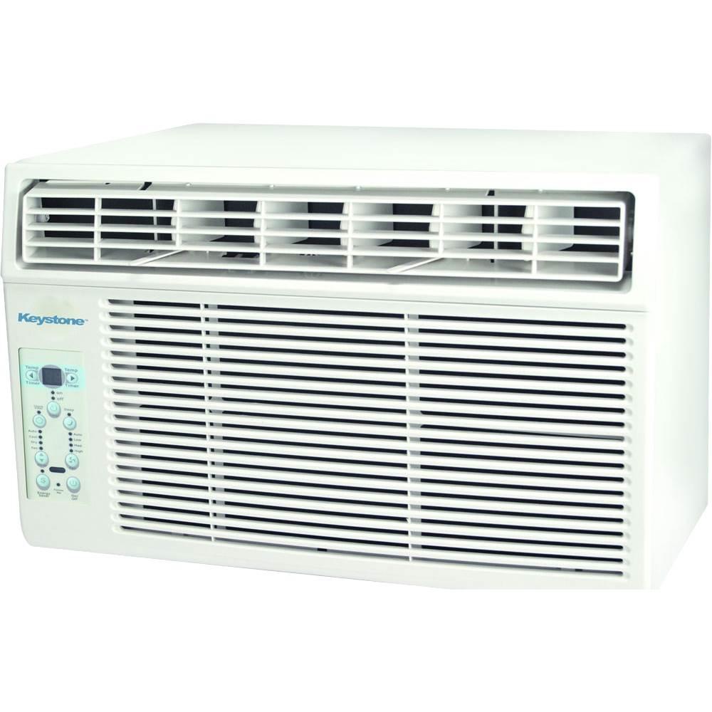 Keystone - 8,000 BTU Window Air Conditioner - White 5890360