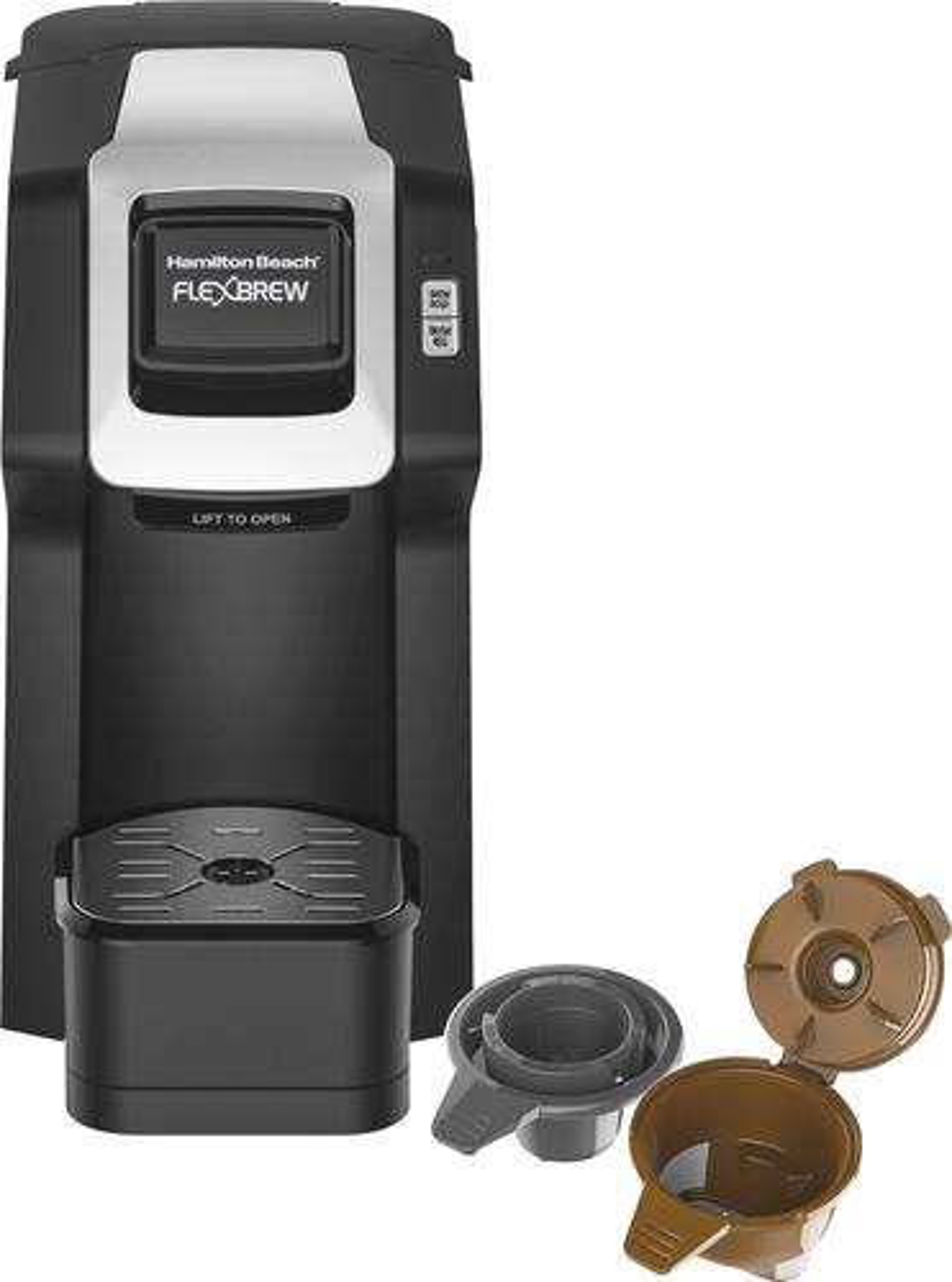 Hamilton Beach - FlexBrew Coffeemaker - Black 5890802