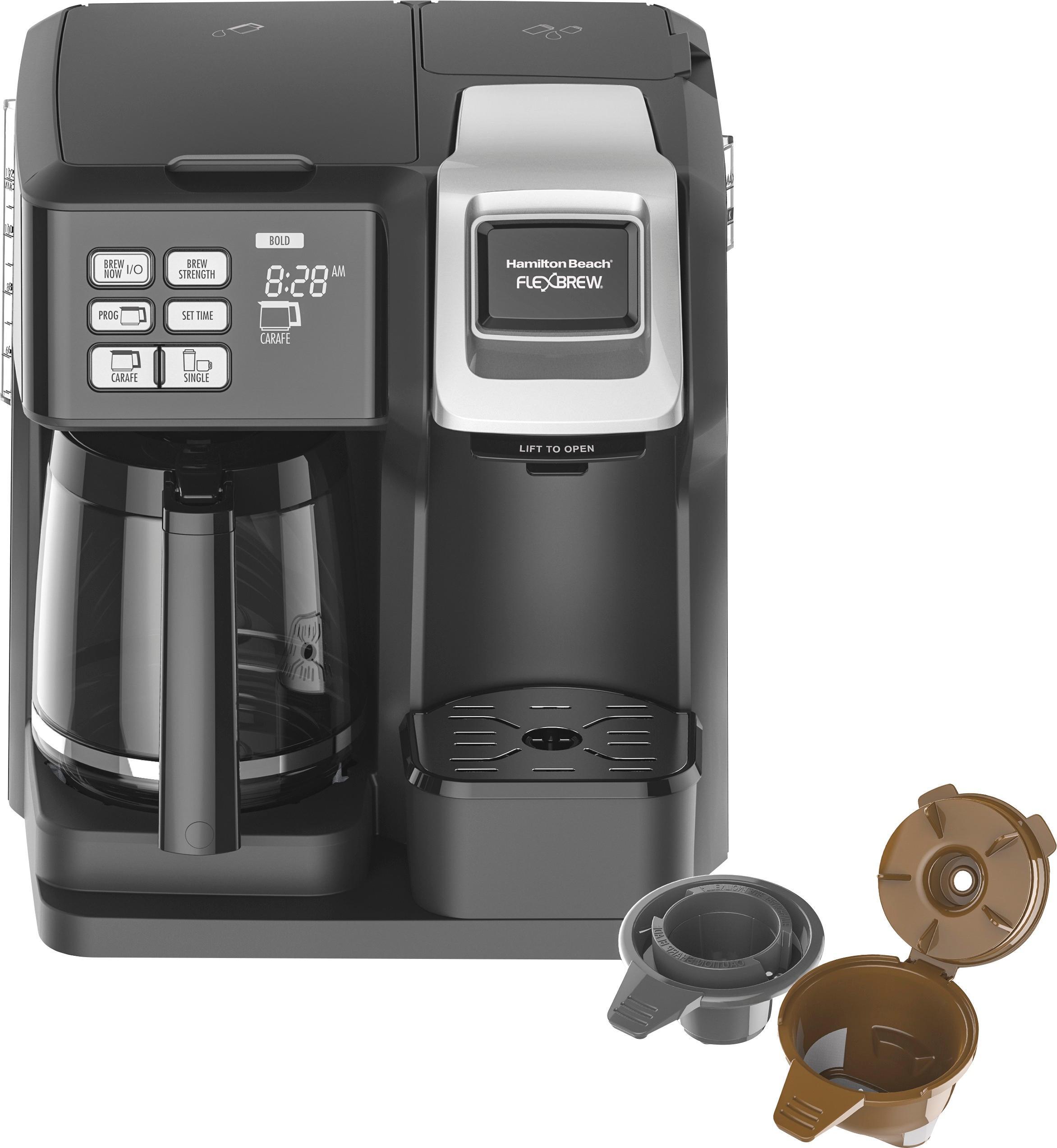Hamilton Beach - FlexBrew 12-Cup Coffeemaker - Black 5890804