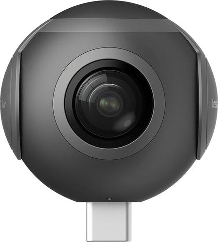 Insta360 - Air 360 Degree Camera for Android Devices (USB Type-C) - Charcoal gray