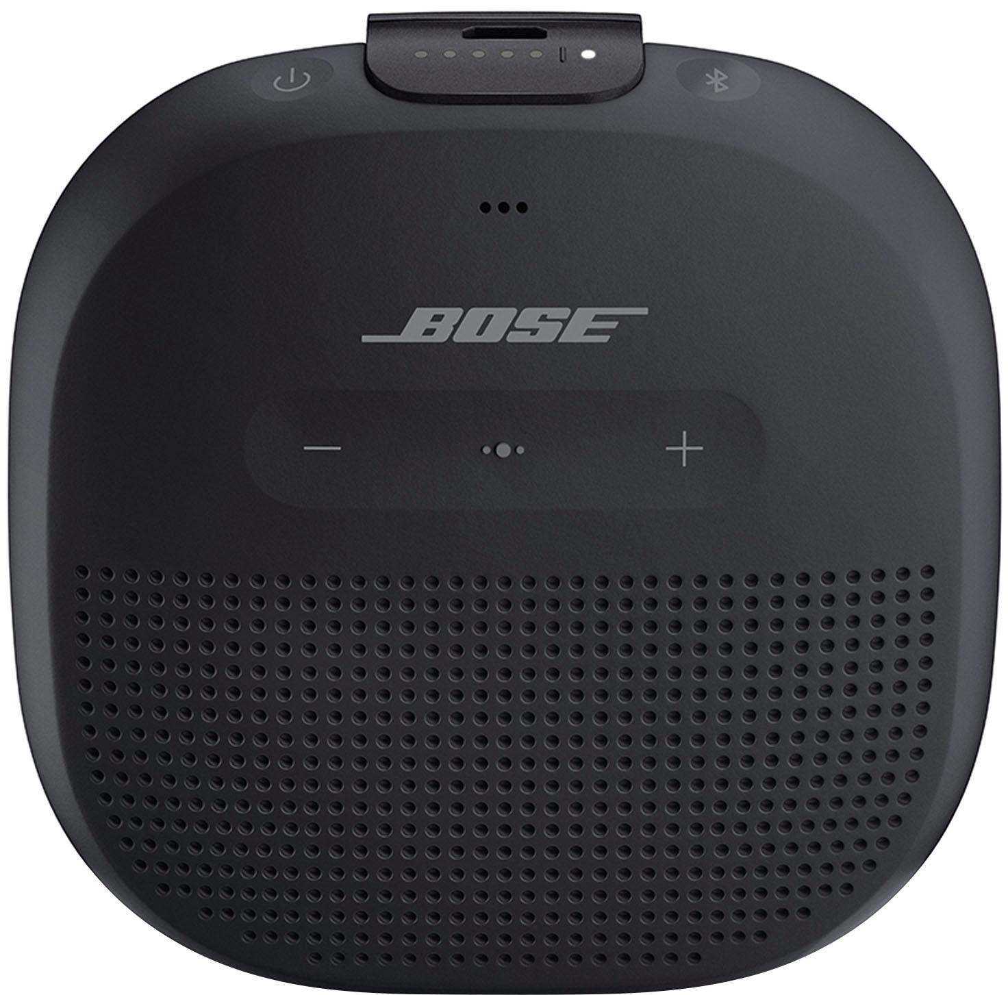 Bose® - SoundLink® Micro Portable Bluetooth® Speaker - Black