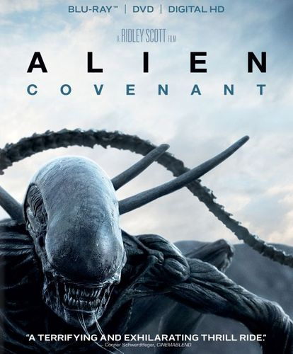 Alien: Covenant [Includes Digital Copy] [Blu-ray/DVD] [2017] 5892800