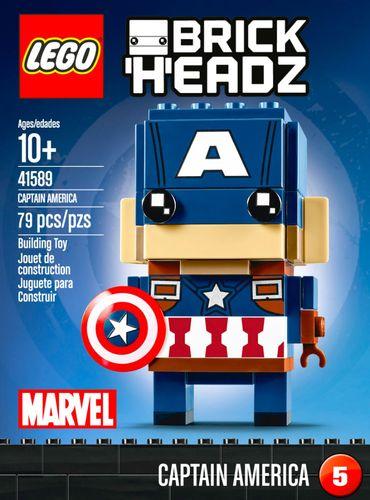 LEGO - BrickHeadz Marvel Super Heroes: Captain America 5892940