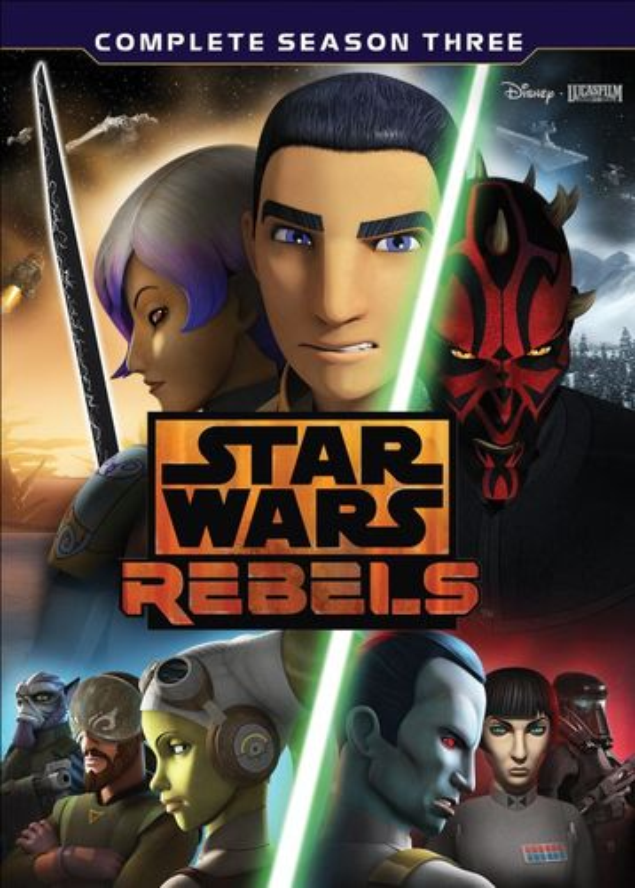 Star Wars Rebels: The Complete Season 3 [DVD] 5894015