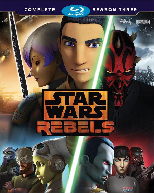 Star Wars Rebels: The Complete Season 3 [Blu-ray] 5894024