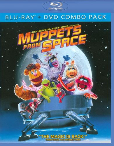 Muppets from Space [Blu-ray/DVD] [1999] 5894225