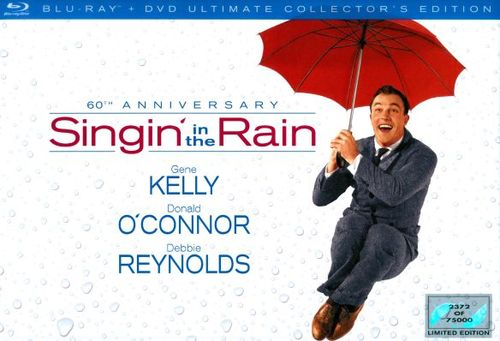 Singin' in the Rain: 60th Anniversary Collection [3 Discs] [Blu-ray/DVD] 5894359