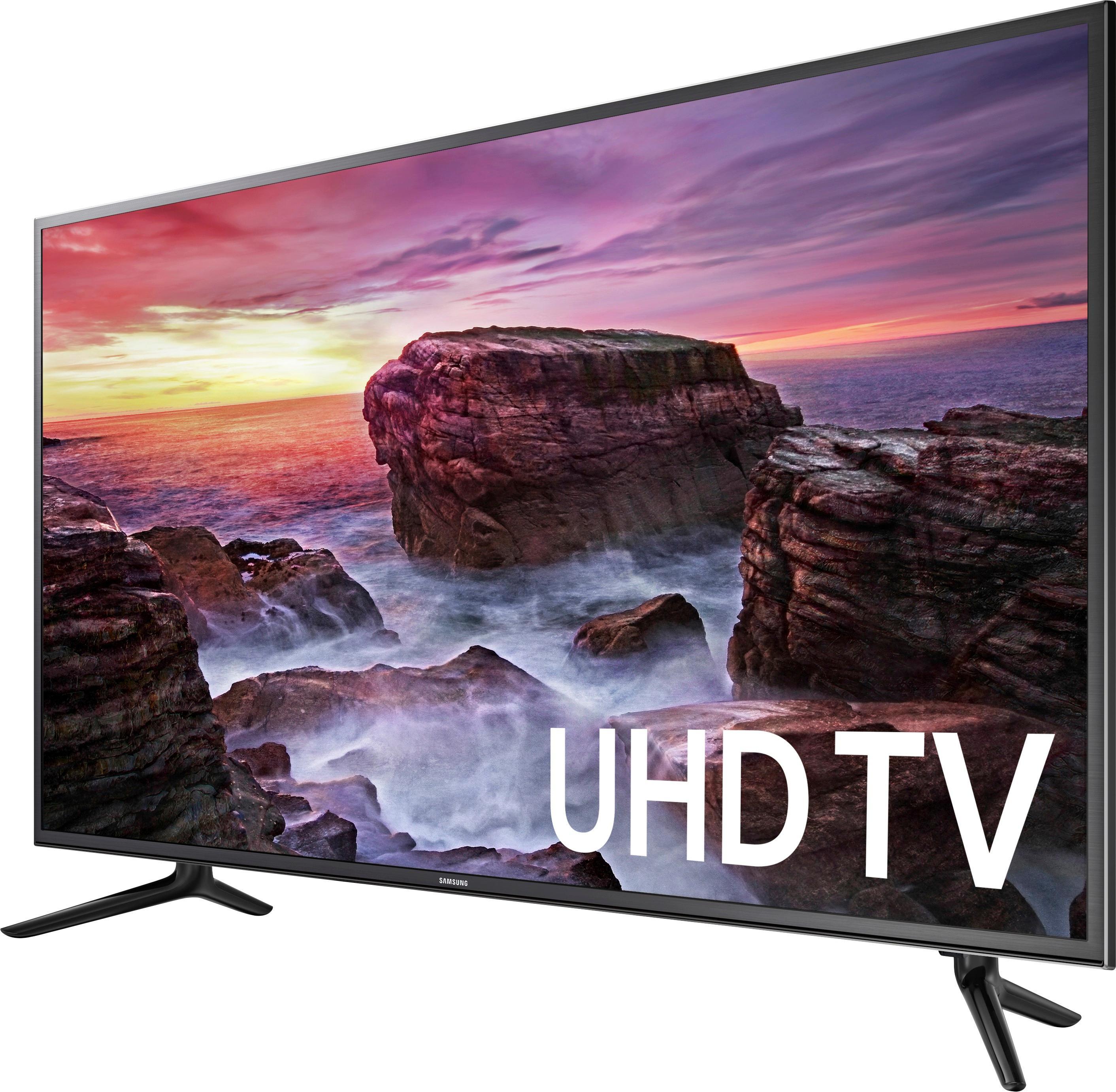 "Samsung UN58MU6100FXZA 58"" Class (57.5"" Diag.) LED 2160p Smart 4K Ultra HD TV Black"