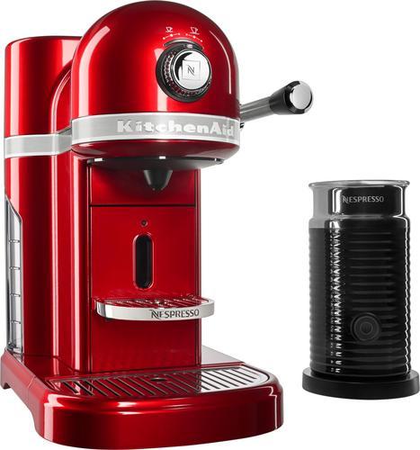KitchenAid - KES0504CA Nespresso Espresso Maker/Coffee Maker/Milk Frother - Candy apple red