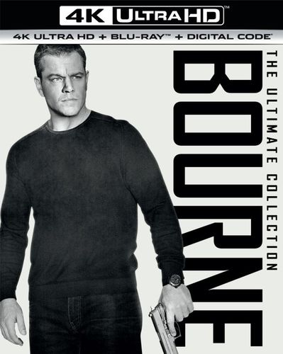 The Bourne Ultimate Collection [Includes Digital Copy] [UltraViolet] [4K Ultra HD Blu-ray] 5898404