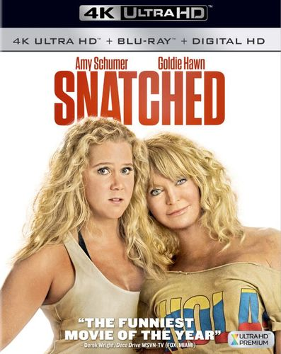 Snatched [Includes Digital Copy] [4K Ultra HD Blu-ray/Blu-ray] [2017] 5898609