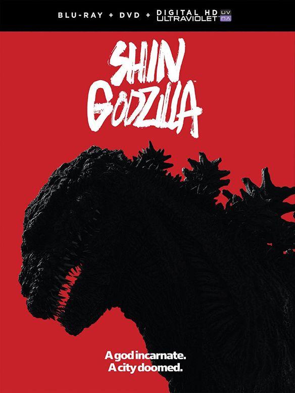 Shin Godzilla [Includes Digital Copy] [UltraViolet] [Blu-ray/DVD] [2 Discs] [2016] 5898621