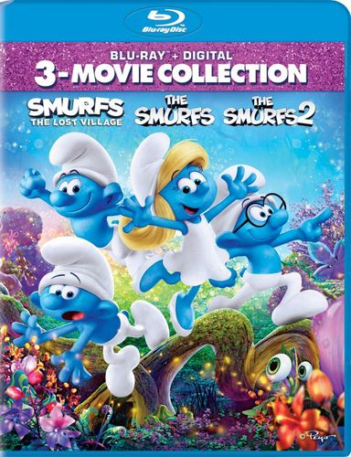 The Smurfs/The Smurfs 2/Smurfs: The Lost Village [Blu-ray] 5899210