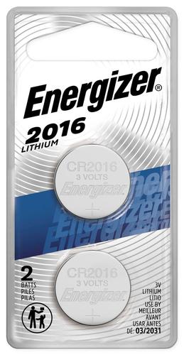 Energizer - 2016 Batteries...