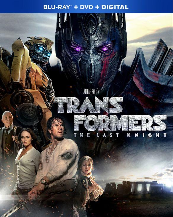 Transformers: The Last Knight [Includes Digital Copy] [Blu-ray/DVD] [2017] 5901131