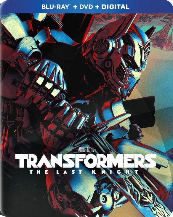 Transformers: The Last Knight [SteelBook] [Includes Digital Copy] [Blu-ray/DVD] [Only @ Best Buy] [2017] 5901133