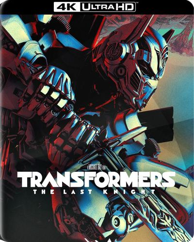 Transformers: The Last Knight [SteelBook] [4K Ultra HD Blu-ray/Blu-ray] [Only @ Best Buy] [2017] 5901134