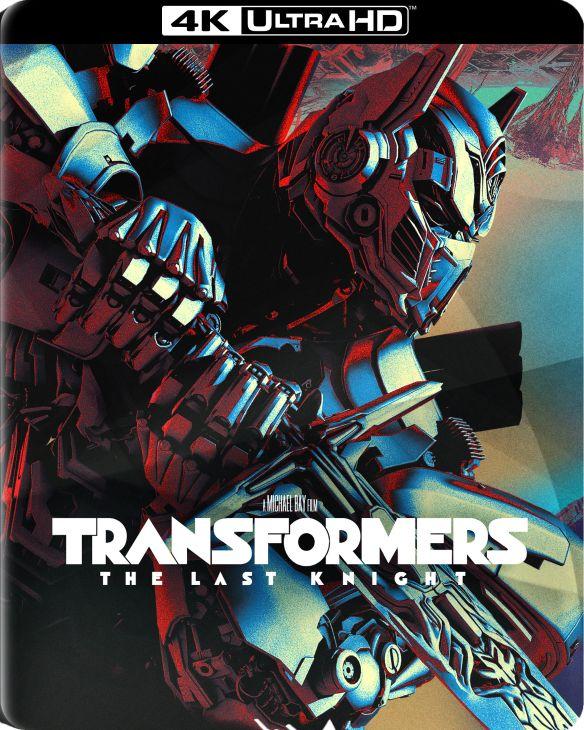 Transformers: The Last Knight [SteelBook] [4K Ultra HD Blu-ray/Blu-ray] [Only @ Best Buy] [2017] 5901134