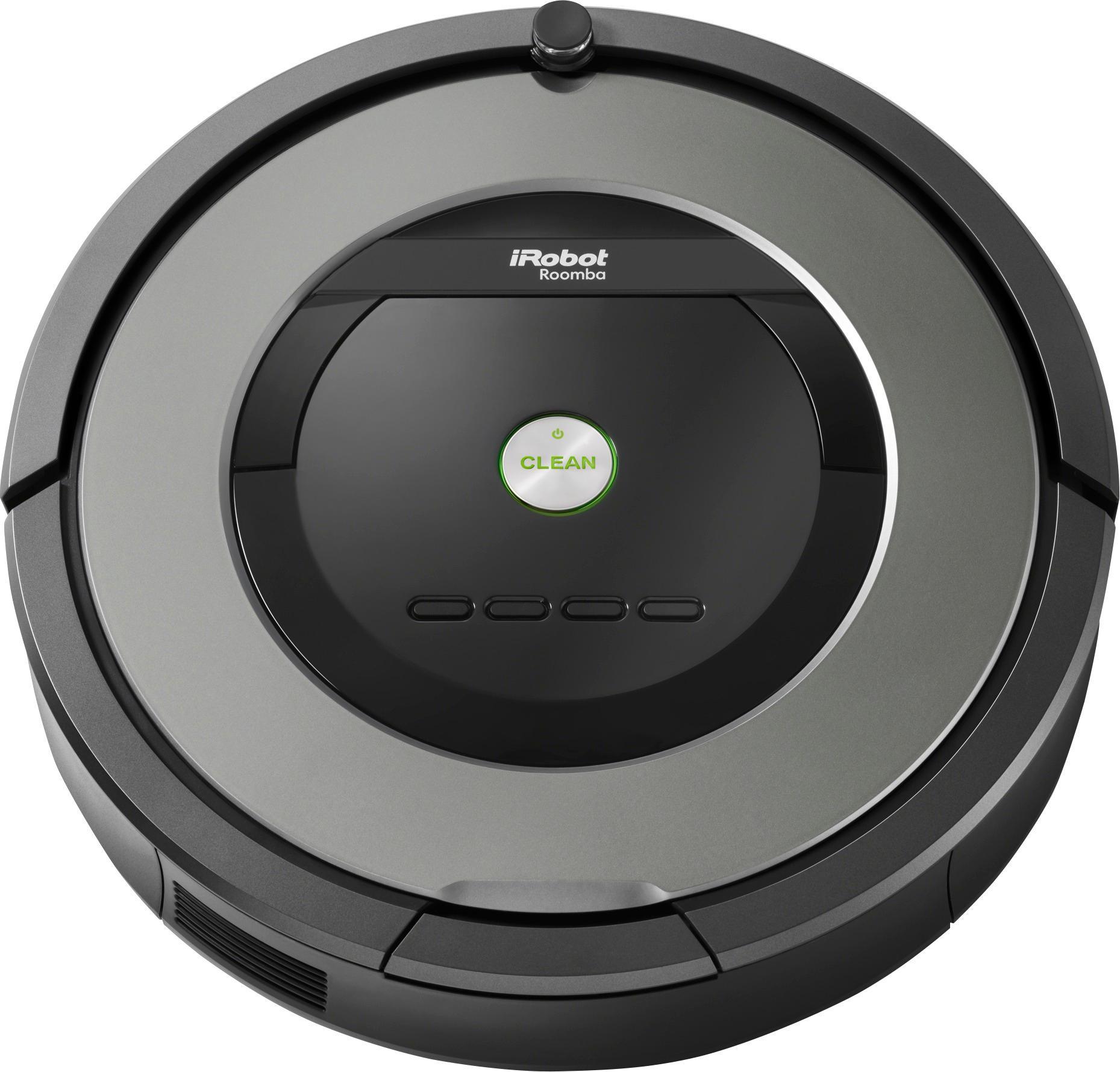 iRobot - Roomba 877 Self-Charging Robot Vacuum - Black/gray