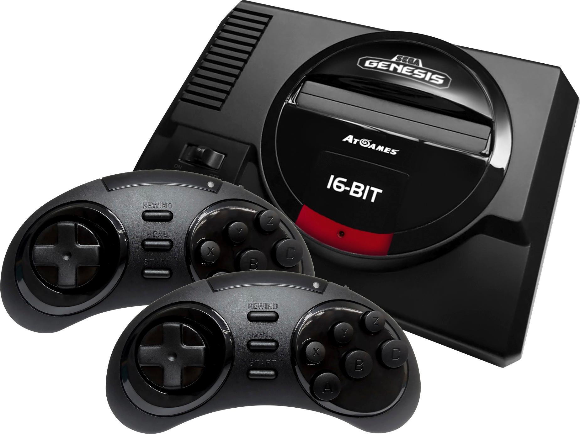 Sega - Genesis Flashback Console - Black