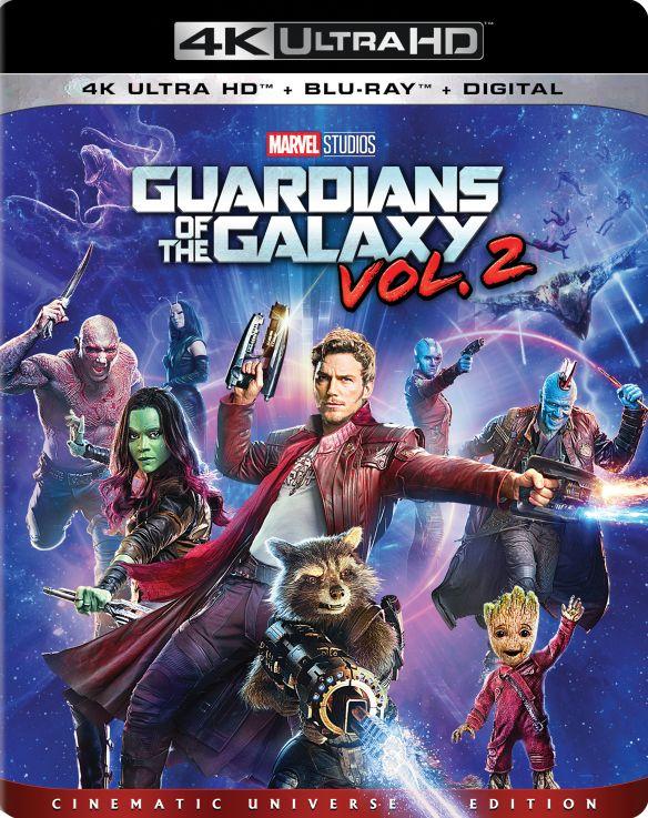 Guardians of the Galaxy Vol. 2 [Includes Digital Copy] [4K Ultra HD Blu-ray/Blu-ray] [2017] 5904800