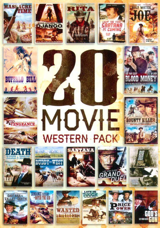 20 Movie Western Pack [5 Discs] [DVD] 5910228