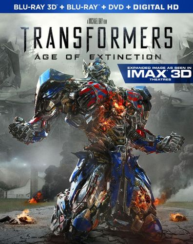 Transformers: Age of Extinction [Includes Digital Copy] [3D] [Blu-ray/DVD] [Blu-ray/Blu-ray 3D/DVD] [2014] 5911817