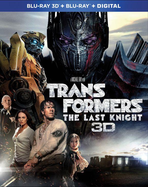Transformers: The Last Knight [Includes Digital Copy] [3D] [Blu-ray] [Blu-ray/Blu-ray 3D] [2017] 5915900