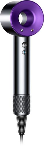 Dyson - Supersonic™ Hair Dryer - Nickel/Purple Only at Best Buy 3 speed and 4 heat settingsTemperature sensorMagnetic attachmentsBalanced handle