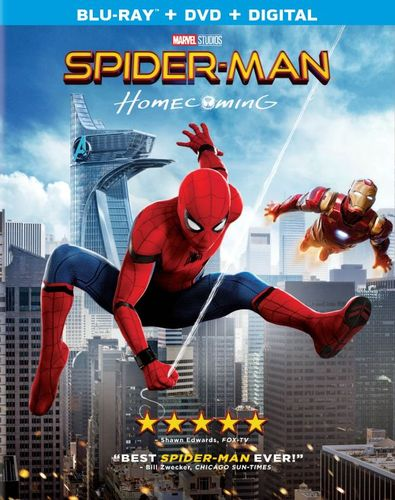 Spider-Man: Homecoming [Includes Digital Copy] [Blu-ray/DVD] [2017] 5916901
