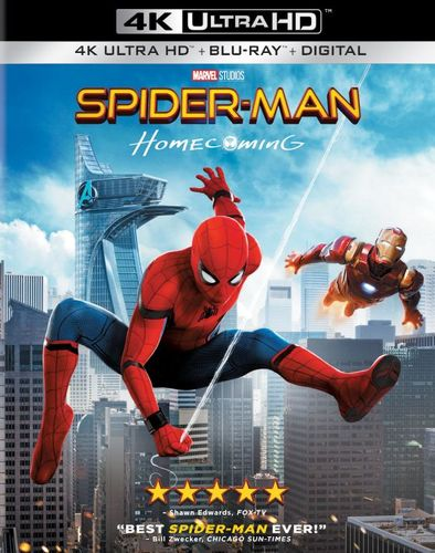 Spider-Man: Homecoming [Includes Digital Copy] [4K Ultra HD Blu-ray/Blu-ray] [2017] 5916910