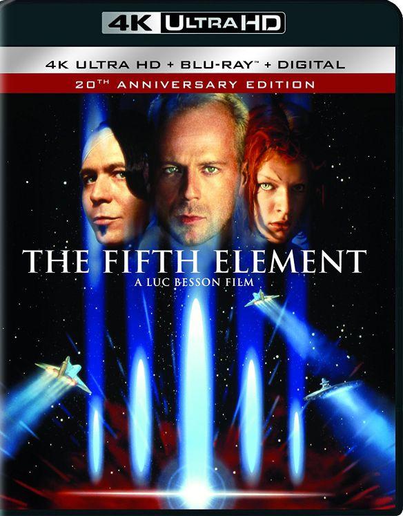 The Fifth Element [Includes Digital Copy] [UltraViolet] [4K Ultra HD Blu-ray] [2 Discs] [1997] 5918300