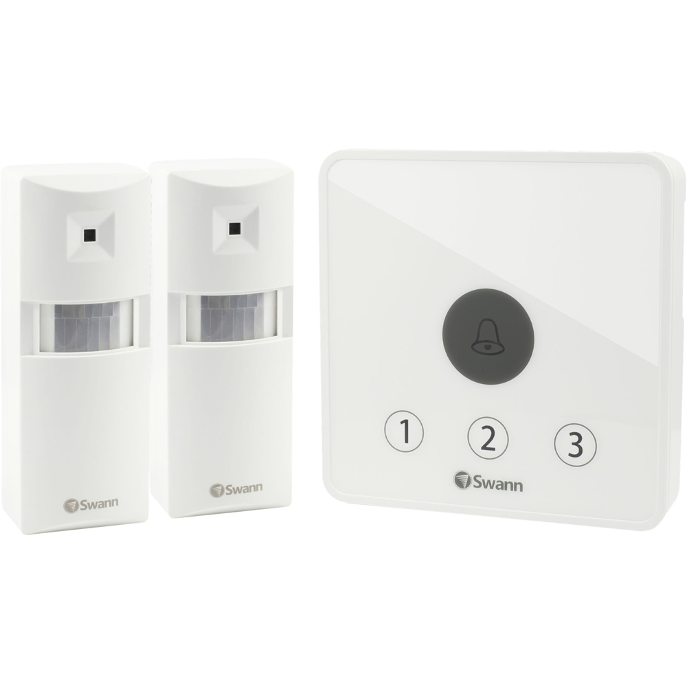 Swann SWADS-ALARMS-GL Wireless Home Security System White