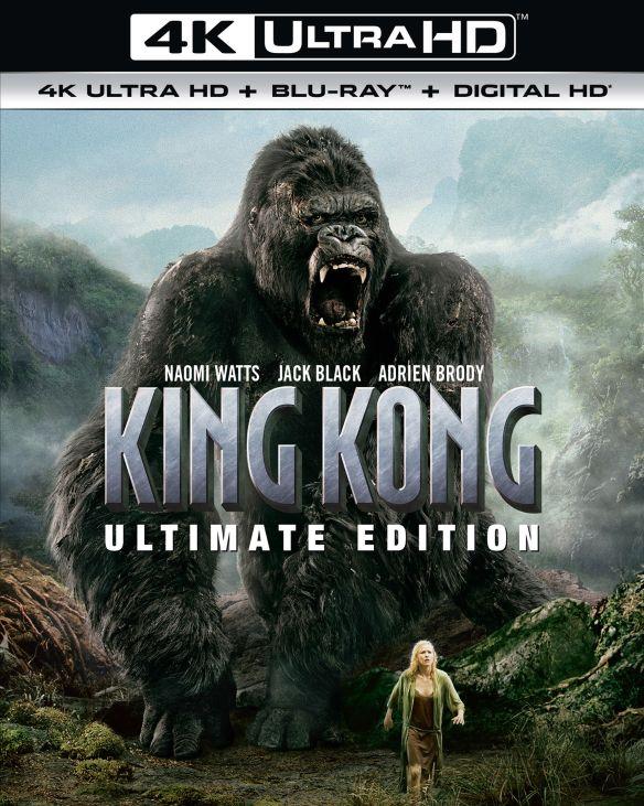 King Kong [Ultimate Edition] [4K Ultra HD Blu-ray] [2005] 5920801