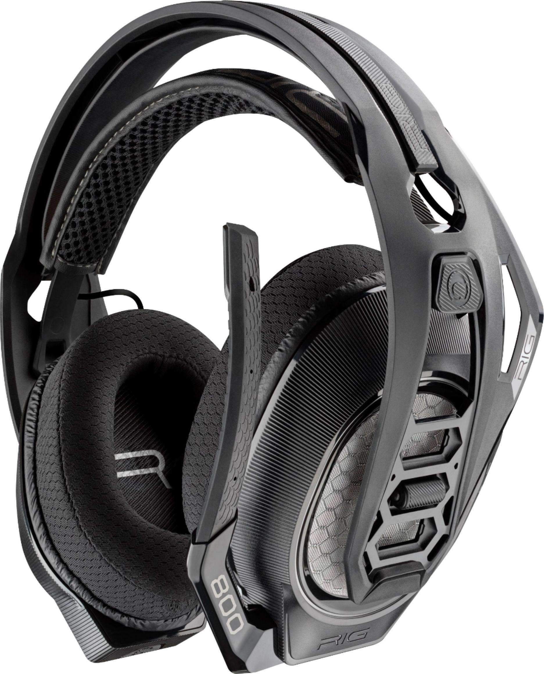 Plantronics – RIG 800LX Wireless Headset for Xbox One – Black