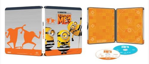 Despicable Me 3 [SteelBook] [Includes Digital Copy] [Blu-ray/DVD] [Only @ Best Buy] [2017] 5923900