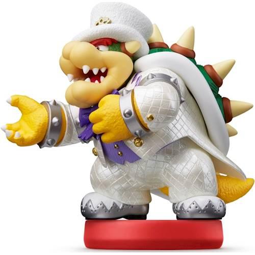 Nintendo - amiibo Figure (Super Mario Odyssey Series Bowser - Wedding Outfit)