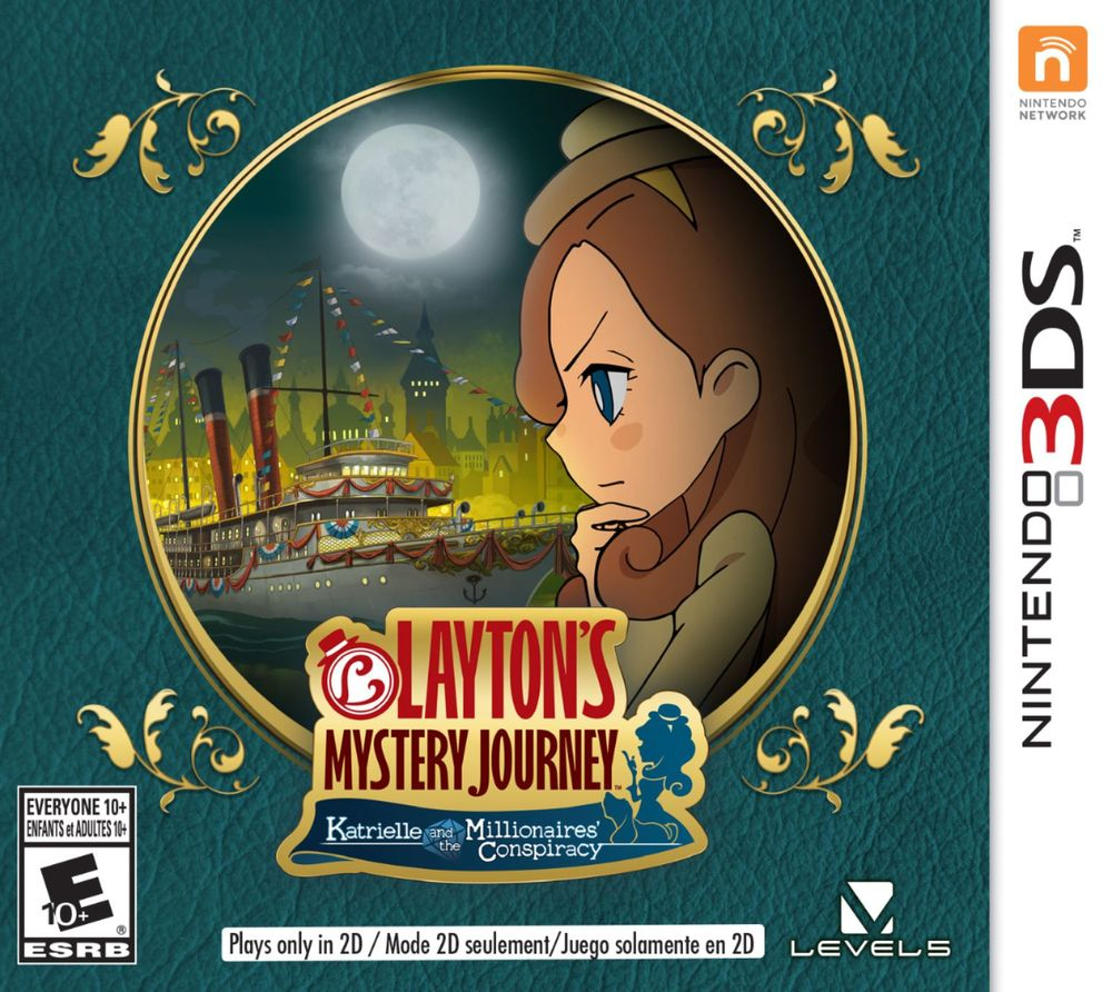 Layton's Mystery Journey: Katrielle and the Millionaires' Conspiracy – Nintendo 3DS