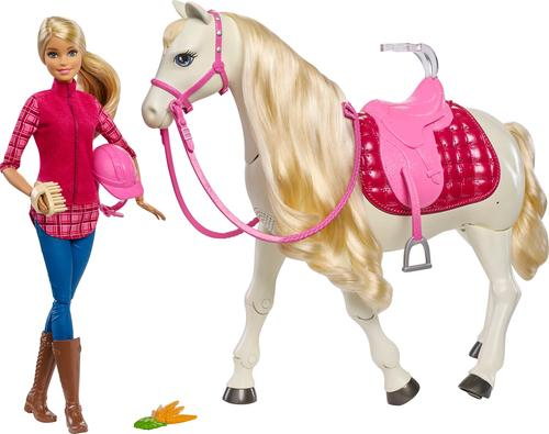 Mattel - Barbie and her DreamHorse - Red/Pink/White 5934918