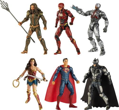 "Mattel - DC Comics Multiverse Justice League Movie 6"" Figure"