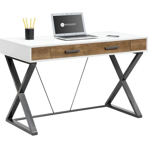 Whalen Furniture - Samford Contemporary Computer Desk - White