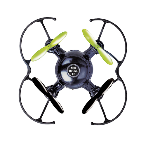 Protocol - Neo-Drone AP Mini Stunt Quadcopter with Remote Controller - Black