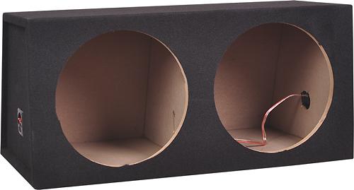"Metra - 12"" Dual Sealed Subwoofer Enclosure - Charcoal 5937276"
