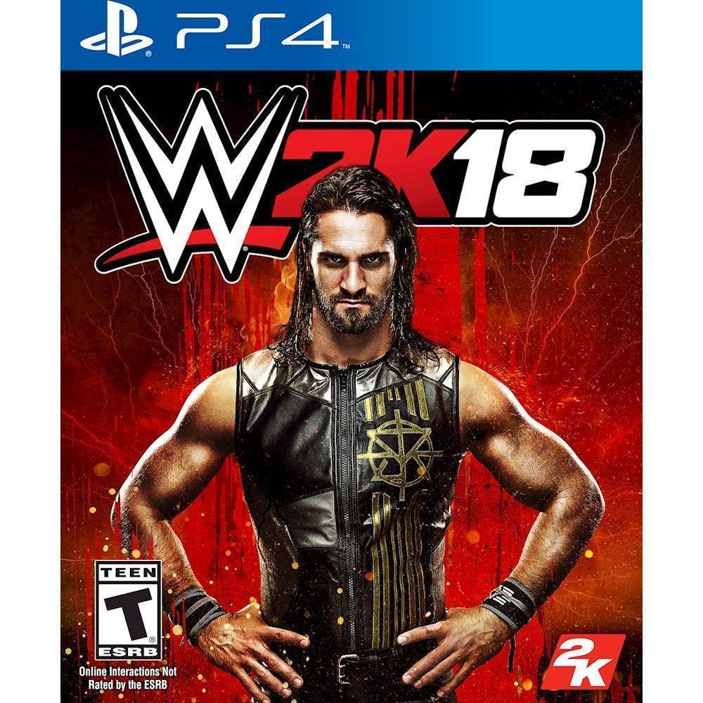 WWE 2K18 – PlayStation 4