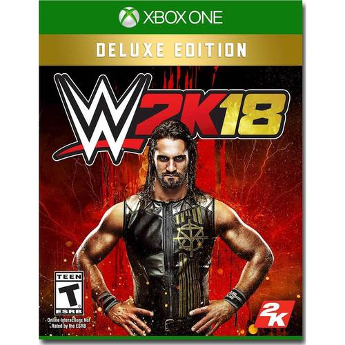 WWE 2K18 Deluxe Edition...