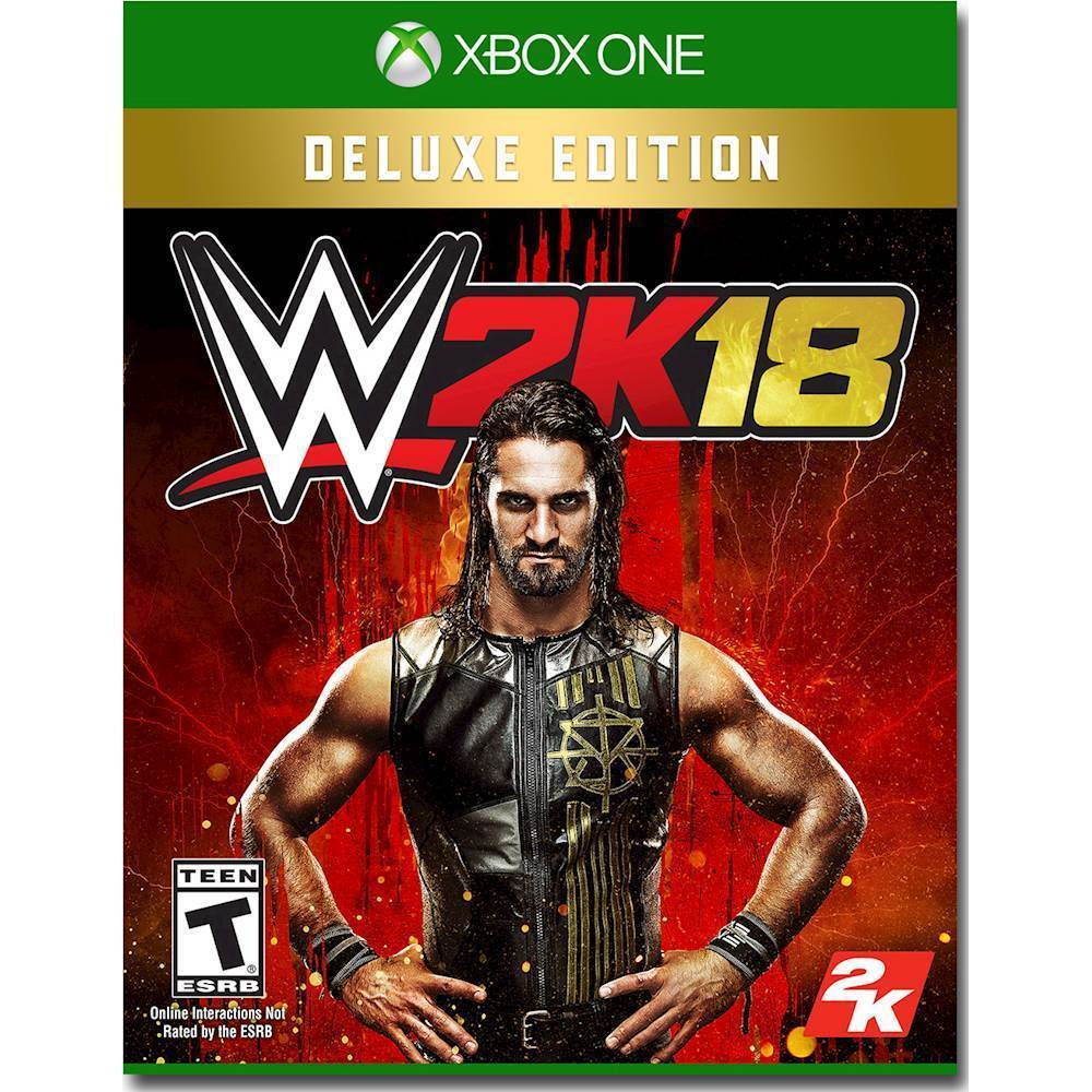 WWE 2K18 Deluxe Edition – Xbox One