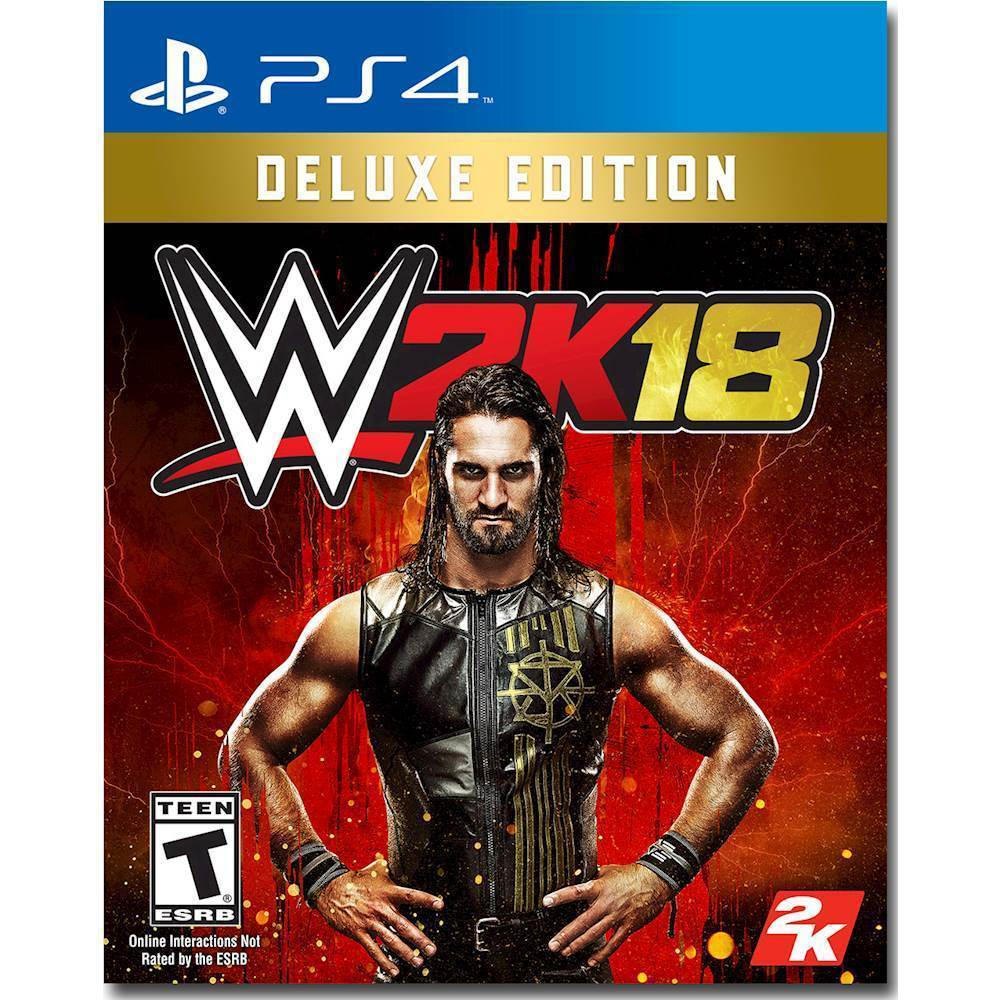WWE 2K18 Deluxe Edition – PlayStation 4