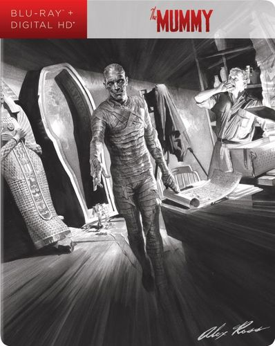 The Mummy: Alex Ross SteelBook Art [Blu-ray] [SteelBook] [Only @ Best Buy] [1932] 5940800