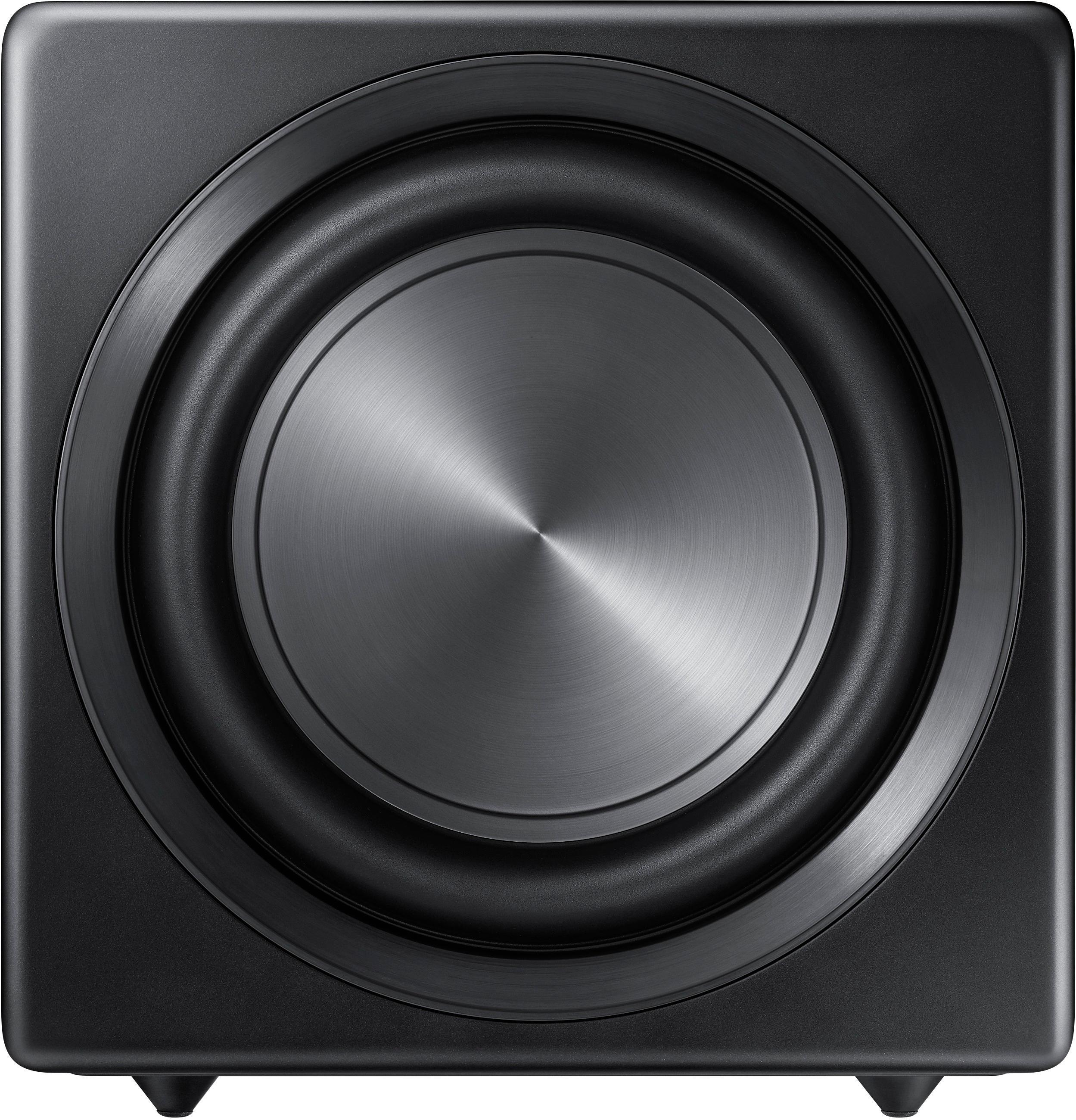 Samsung - Sound+ 10 inch 200W Wireless Powered Subwoofer - Black